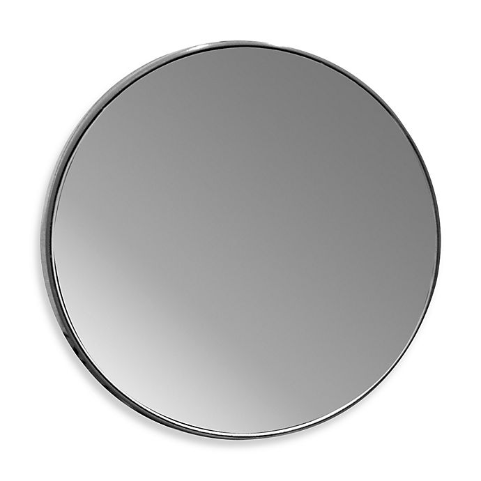 Alternate image 1 for 10x Magnifying Glass Mirror with Suction Cups