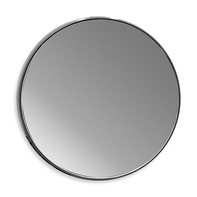 Alternate image 1 for 15x Magnifying Glass Mirror with Suction Cups