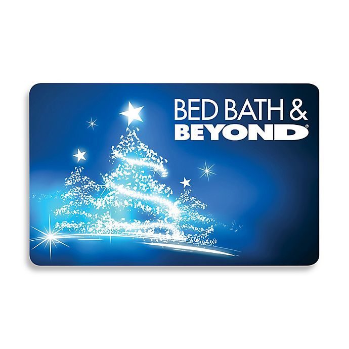 Bed Bath And Beyond Christmas Eve Hours.Glowing Christmas Tree Gift Card 100 Bed Bath Beyond