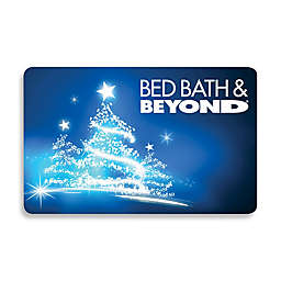 Glowing Christmas Tree Gift Card
