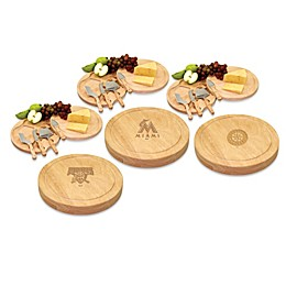 Picnic Time® Engraved MLB Circo Cheese Board Collection Set