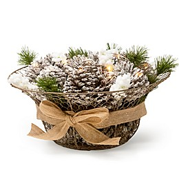 Bee & Willow™ Home Pinecone Centerpiece