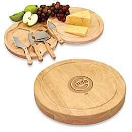 Picnic Time® Engraved MLB Chicago Cubs Circo Cheese Board Set