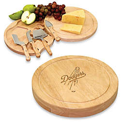 Picnic Time® Engraved MLB Los Angeles Dodgers Circo Cheese Board Set