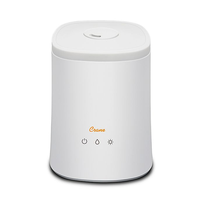 Alternate image 1 for Crane™ 1.2 gallon Top Fill Ultrasonic Cool Mist Humidifier in White