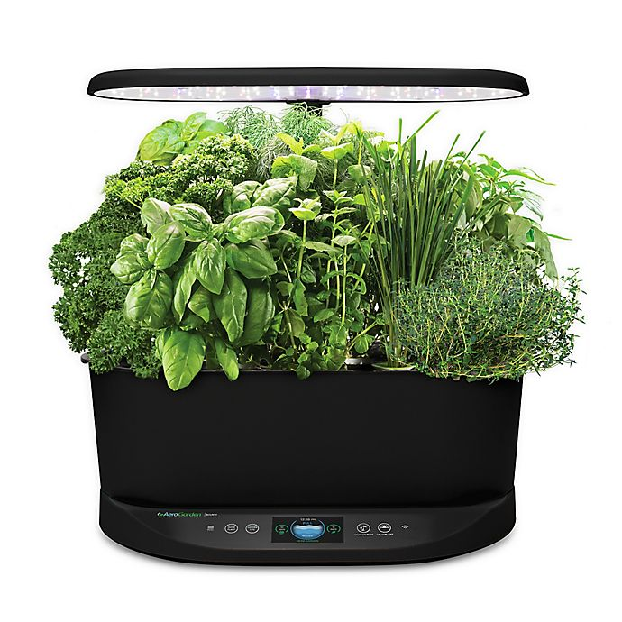 Alternate image 1 for AeroGarden™ Bounty Basic in Black