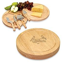 Picnic Time® Engraved MLB St. Louis Cardinals Circo Cheese Board Set
