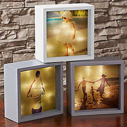 Personalized Photo LED Light Shadow Box Collection