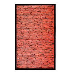 Cobblestone Mahogany Bamboo Rug