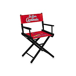 MLB St. Louis Cardinals Table Height Directors Chair