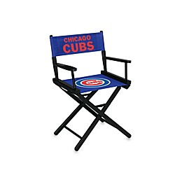 MLB Chicago Cubs Table Height Directors Chair