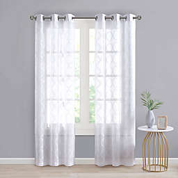 SALT™ Tate 2-Pack Grommet Sheer Window Curtain Panels
