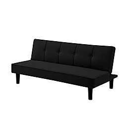 Lifestyle Solutions® Serta® Perry 3-Seat Sofa in Black