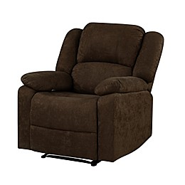 Lifestyle Solutions® Bronx Microfiber Recliner