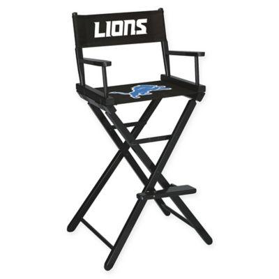Nfl Detroit Lions Bar Height Director Chair Bed Bath