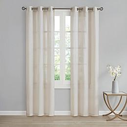 SALT™ Lora 2-Pack Grommet Sheer Window Curtain Panels