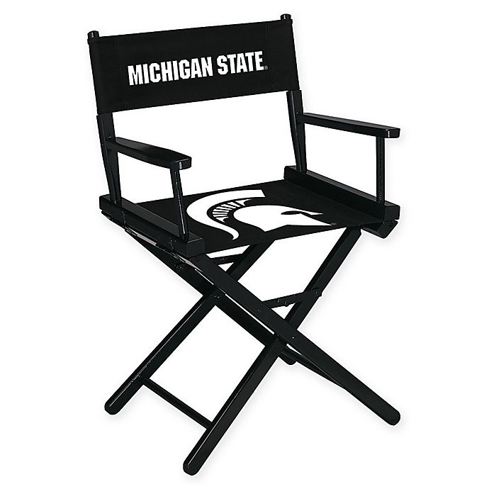 Alternate image 1 for NCAA Michigan State University Table Height Director's Chair