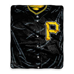 MLB Pittsburgh Pirates Vintage Raschel Throw Blanket