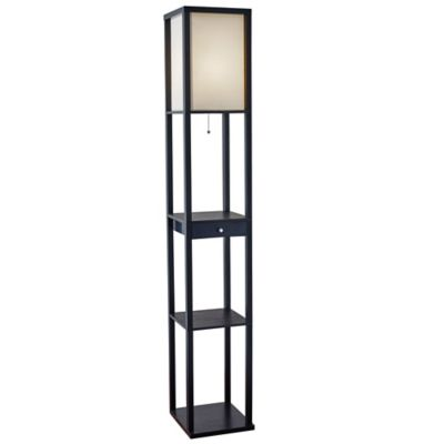 Etagere Floor Lamp With Drawer Bed Bath Amp Beyond