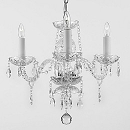 Gallery 4-Light Venetian-Style All Crystal Chandelier