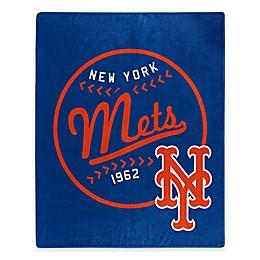 MLB New York Mets Jersey Raschel Throw Blanket