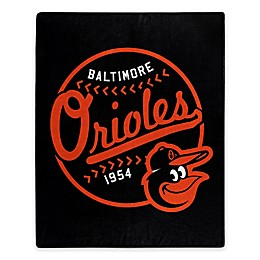 MLB Baltimore Orioles Jersey Raschel Throw Blanket