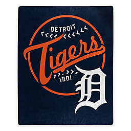 MLB Detroit Tigers Jersey Raschel Throw Blanket