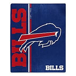 NFL Buffalo Bills Royal Plush Raschel Throw
