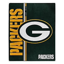 NFL Green Bay Packers Royal Plush Raschel Throw