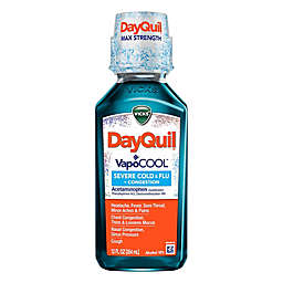 Vicks® DayQuil™ SEVERE VapoCOOL 12 fl. oz. Cough, Cold and Flu Relief Medicine