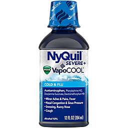Vicks® Nyquil 12 oz. Severe Vapocool Nightime Cough, Cold and Flu Relief
