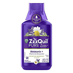Vicks® ZzzQuil™ PURE Zzzs™ 8 fl. oz. Melatonin, Chamomile and Lavender Sleep-Aid