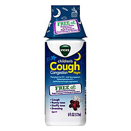 Vicks® Children's 6 fl. oz. Cough and Congestion Night Medicine in Grape