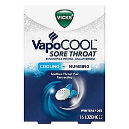 Vicks® VapoCOOL 16-Count Sore Throat Relief Lozenges in Winterfrost