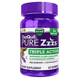 Vicks® ZzzQuil™ Pure Zzzs™ 48-Count Triple Action Melatonin Gummies