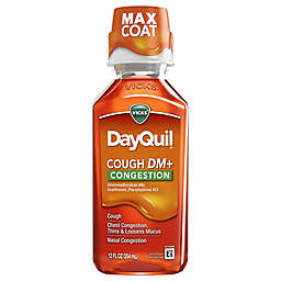 Vicks® DayQuil™ 12 fl. oz. Cough DM + Congestion Relief Medicine in Tropical Citrus