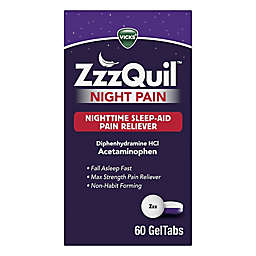 Vicks® ZzzQuil™ 60-Count Night Pain GelTabs