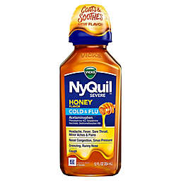 Vicks® NyQuil™ SEVERE 12 fl. oz. Cold and Flu Relief Medicine in Honey