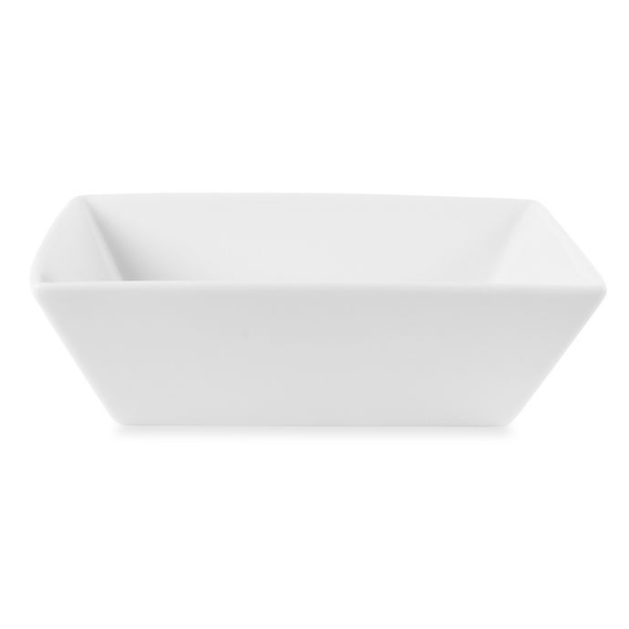 Alternate image 1 for Everyday White®  by Fitz and Floyd® Square Vegetable Bowl