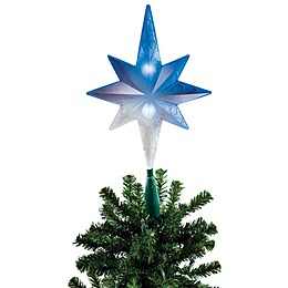 Brite Star Battery Operated Color Changing Bethlehem Star Tree Topper