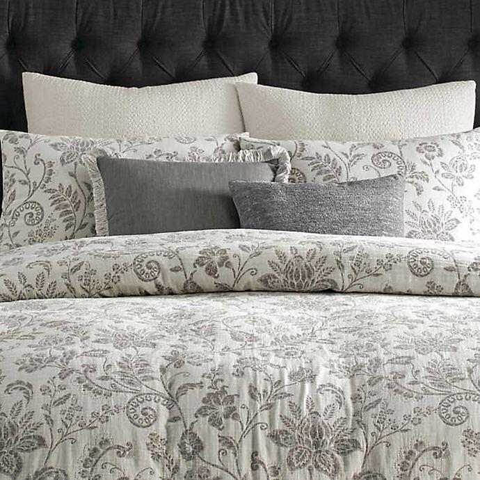 Alternate image 1 for Wamsutta® Bellingham European Pillow Sham in Coconut Milk