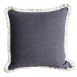 Wamsutta® Bellingham Square Throw Pillow in Charcoal