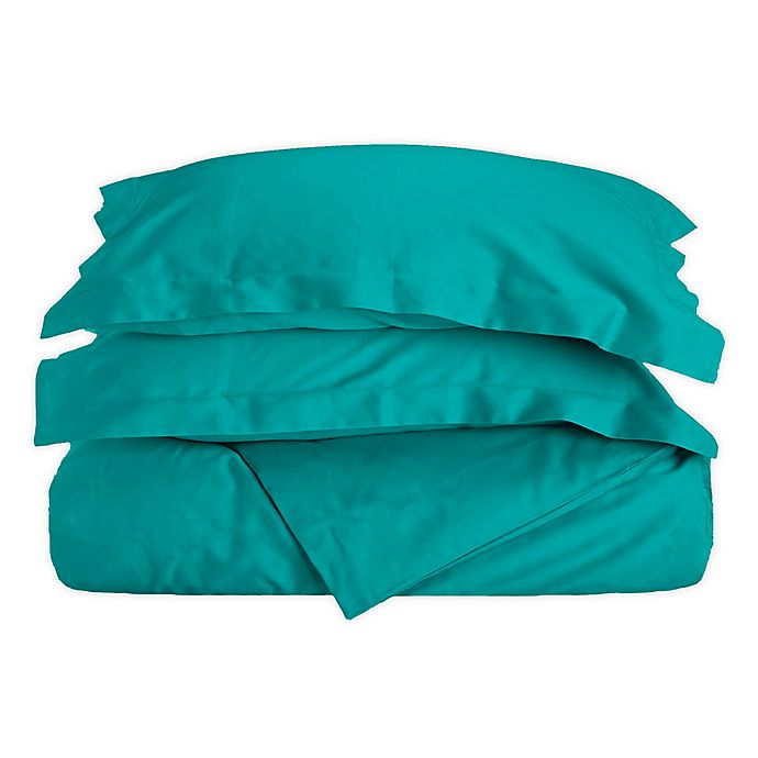 Alternate image 1 for Zuko 2-Piece Twin Duvet Cover Set in Teal