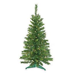 Vickerman 3-Foot 6-Inch Imperial Pine Pre-Lit Christmas Tree