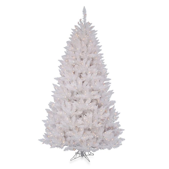 2 Ft White Christmas Tree: Vickerman 4-Foot 6-Inch Sparkle White Spruce Pre-Lit