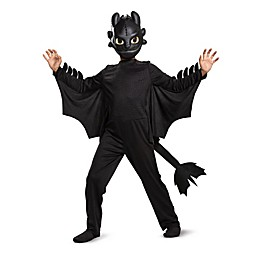 How to Train Your Dragon Toothless Classic Child's Halloween Costume in Black