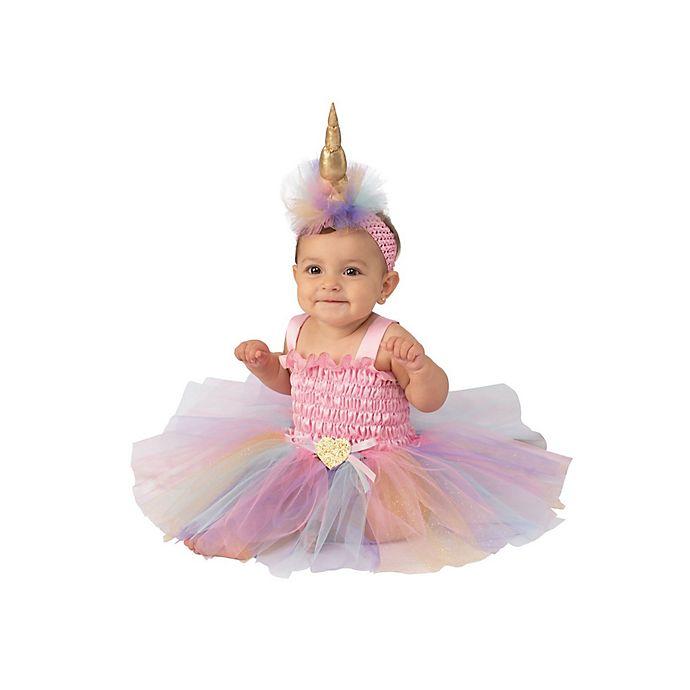 Alternate image 1 for Unicorn Tutu Infant/Toddler Halloween Costume