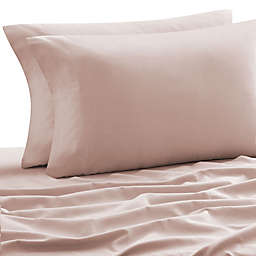 Laundry by SHELLI SEGAL® 160 GSM Solid Flannel Twin/Twin XL Sheet Set in Sepia Rose