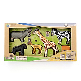 Wenno™ Africa Jungle Safari Series 2 Animals Toy Set