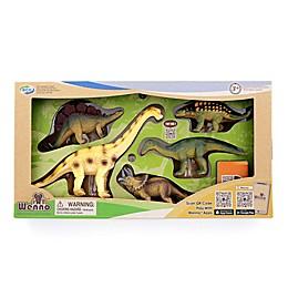 Wenno™ Mesozoic Era Carnivore Dinosaur Toy Set